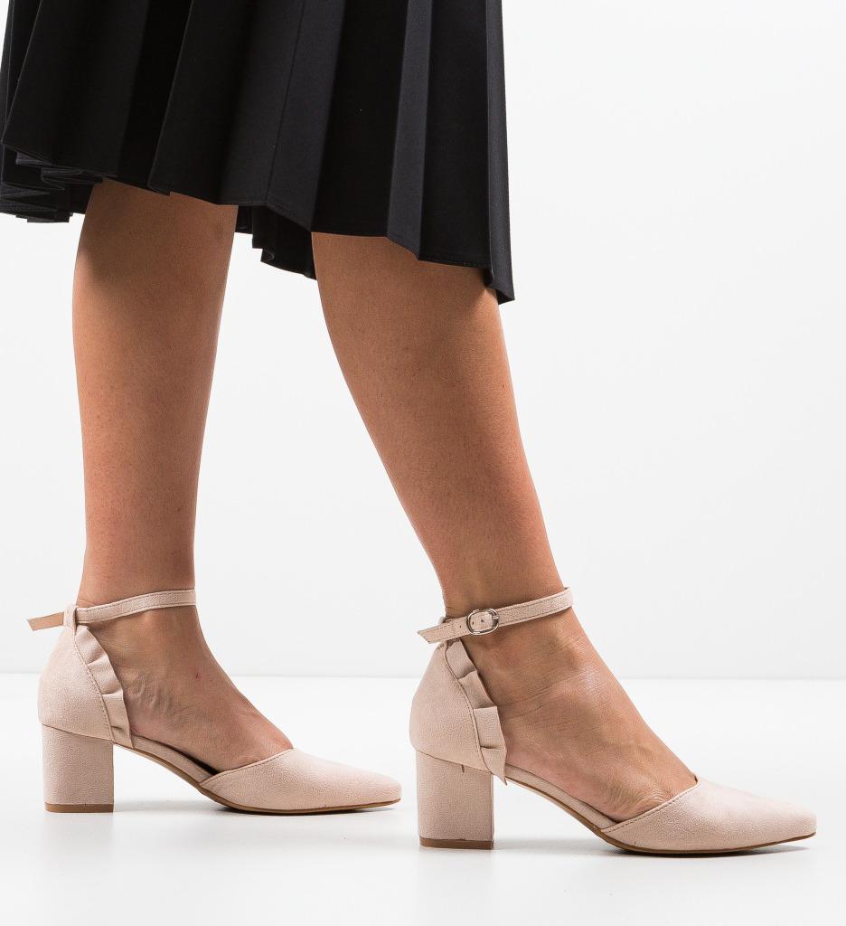 Pantofi Eboq Nude