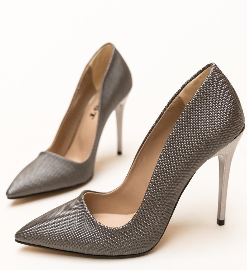Pantofi Eoin Gri