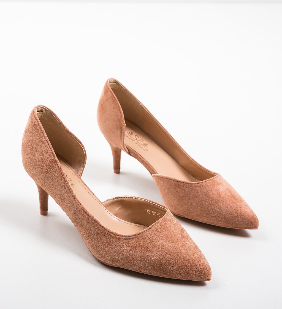 Pantofi Gely Roz