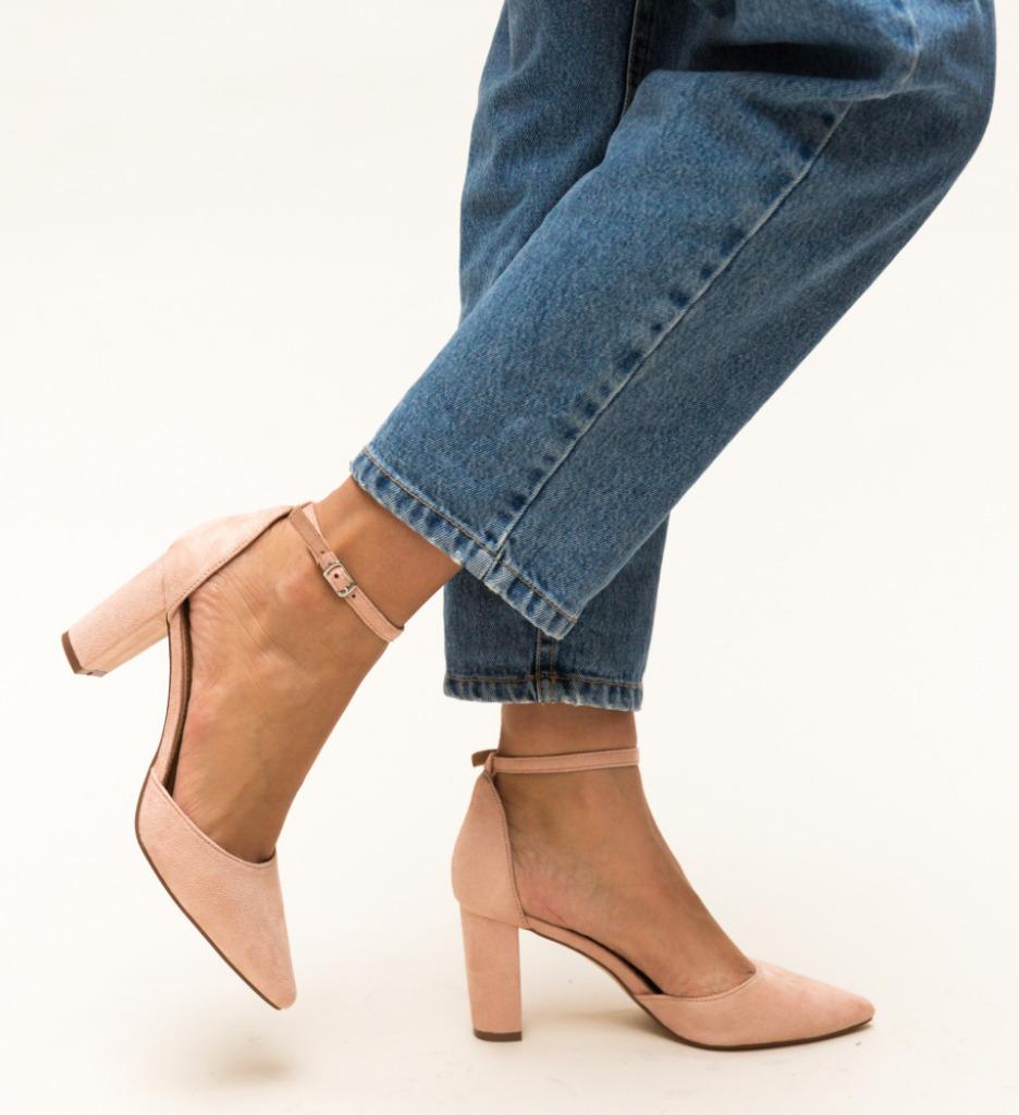 Pantofi Genesis Roz