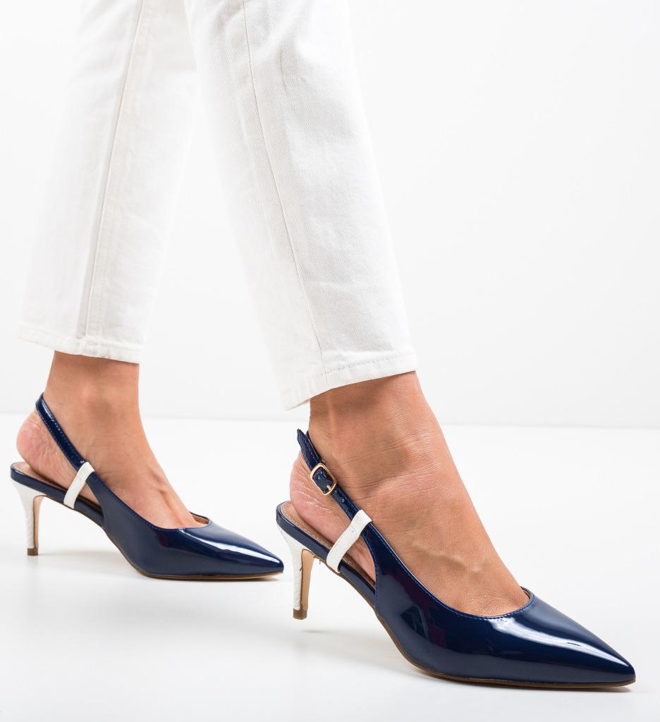 Pantofi Haraj Bleumarin