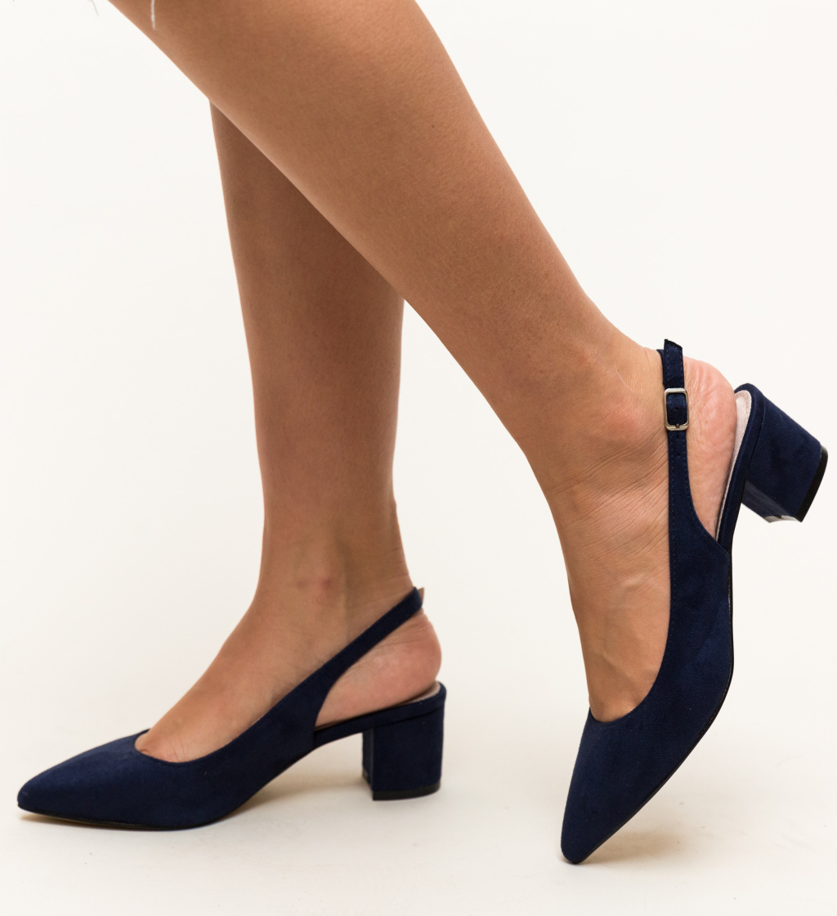 Pantofi Khalil Albastri