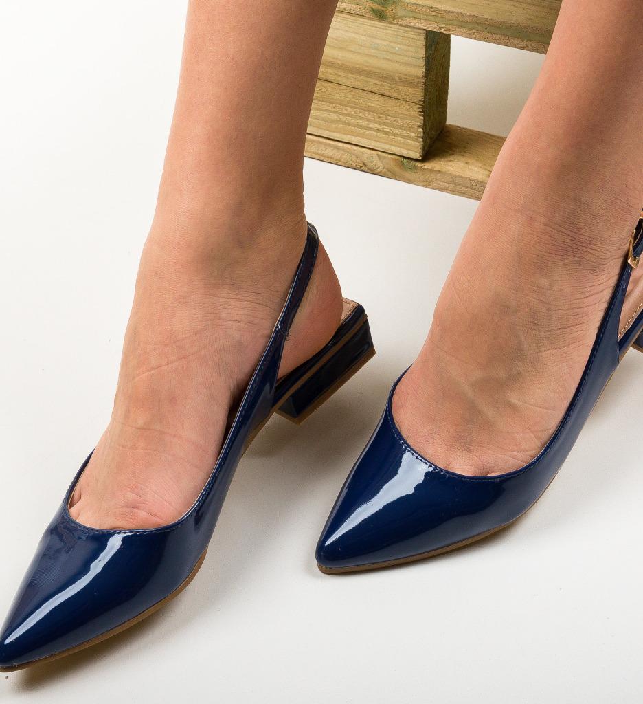 Pantofi Lim Bleumarin