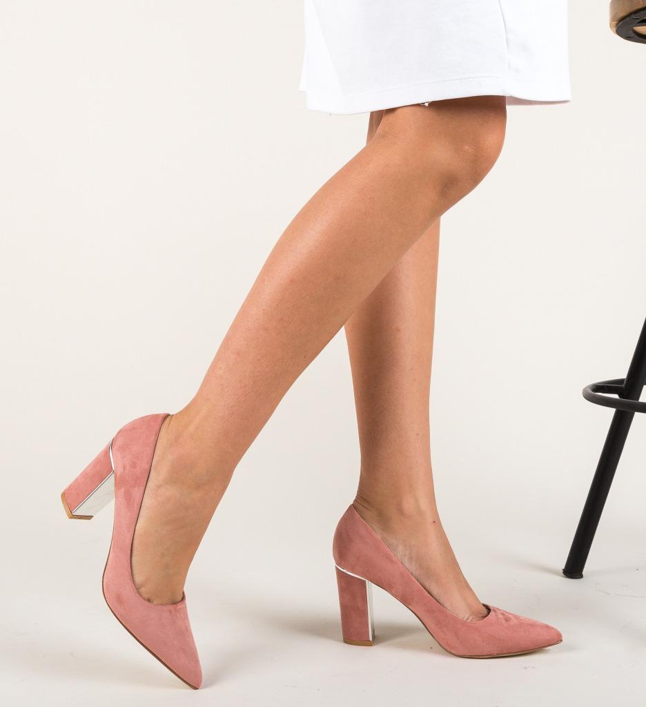 Pantofi Mikono Roz