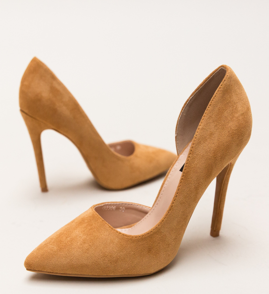 Pantofi Moses Camel