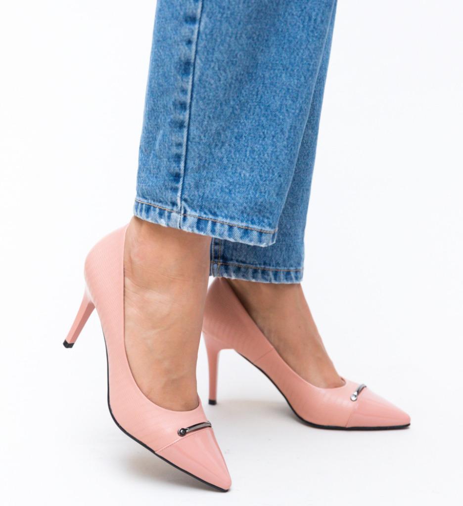 Pantofi Mylo Roz imagine