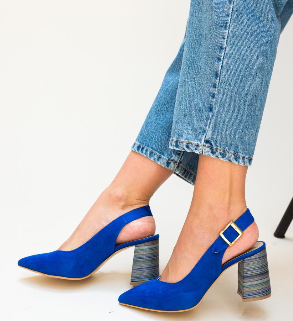 Pantofi Palalama Albastri