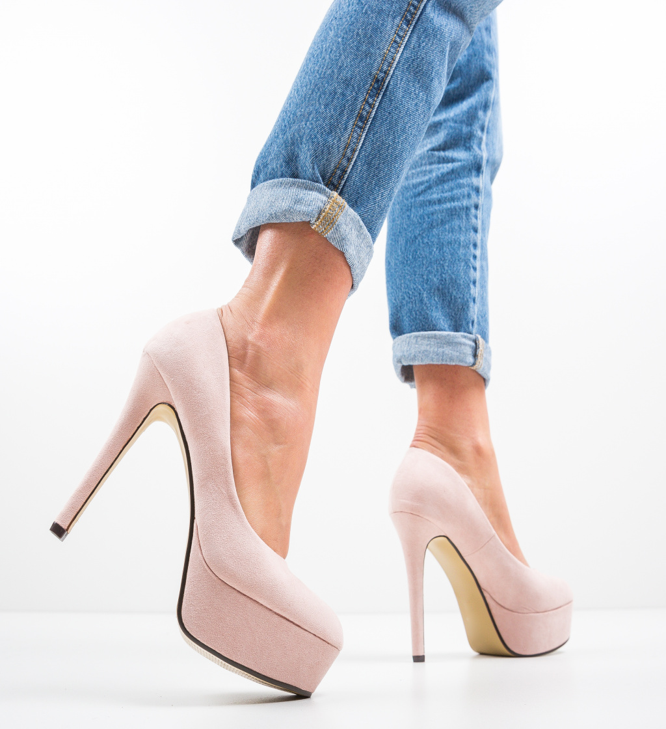 Pantofi Pitt Bej