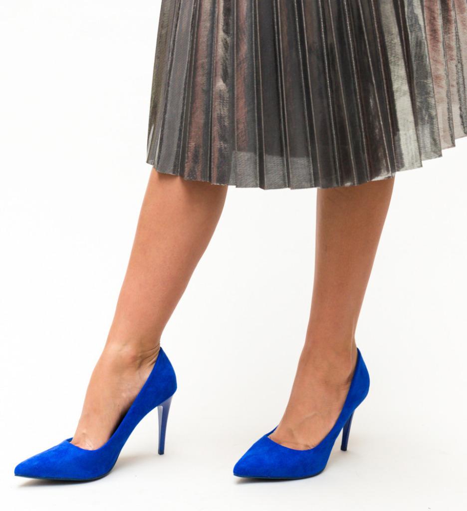 Pantofi Polon Albastri 2 imagine 2021
