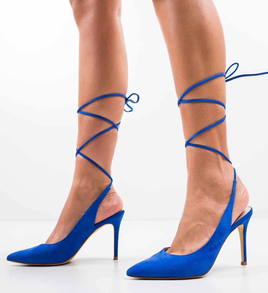 Pantofi Solly Albastri