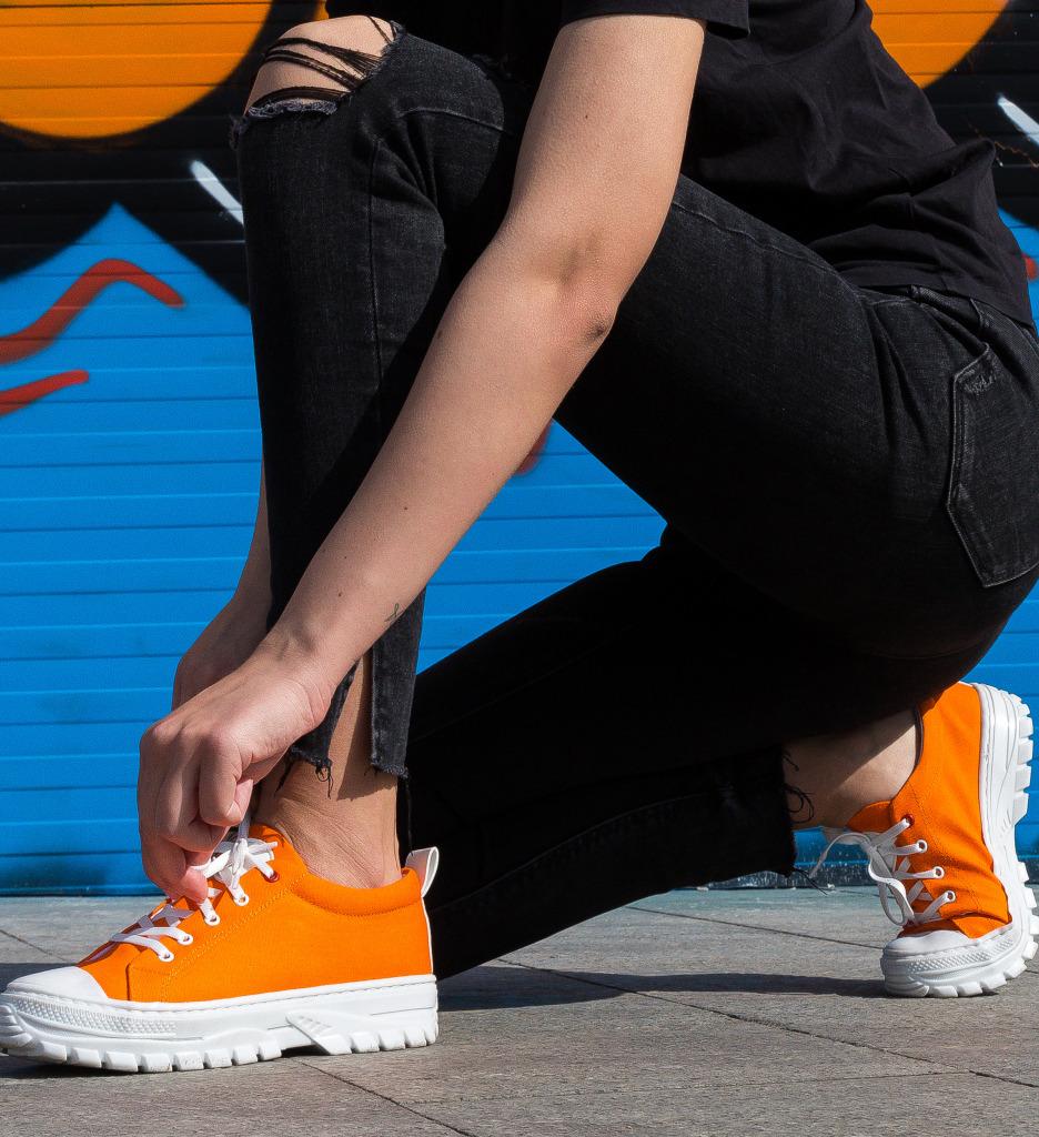 Pantofi Sport Anima Portocalii