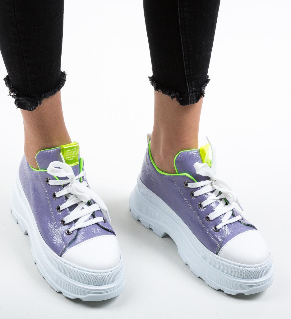 Pantofi Sport Fery Mov