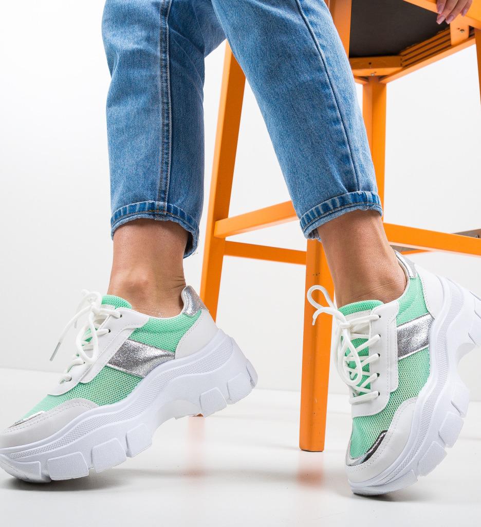 Pantofi Sport Gamey Verzi