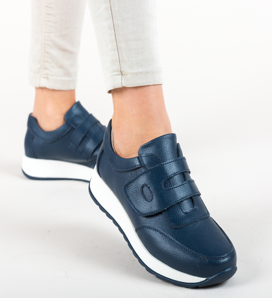 Pantofi Sport Hoffman Bleumarin