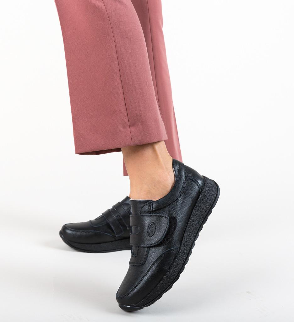 Pantofi Sport Hoffman Negri imagine