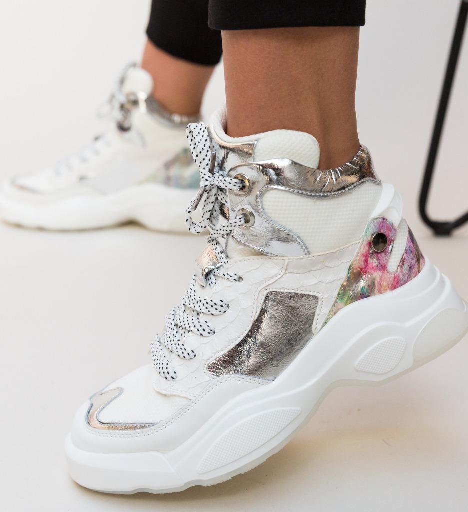 Pantofi Sport Huza Albi