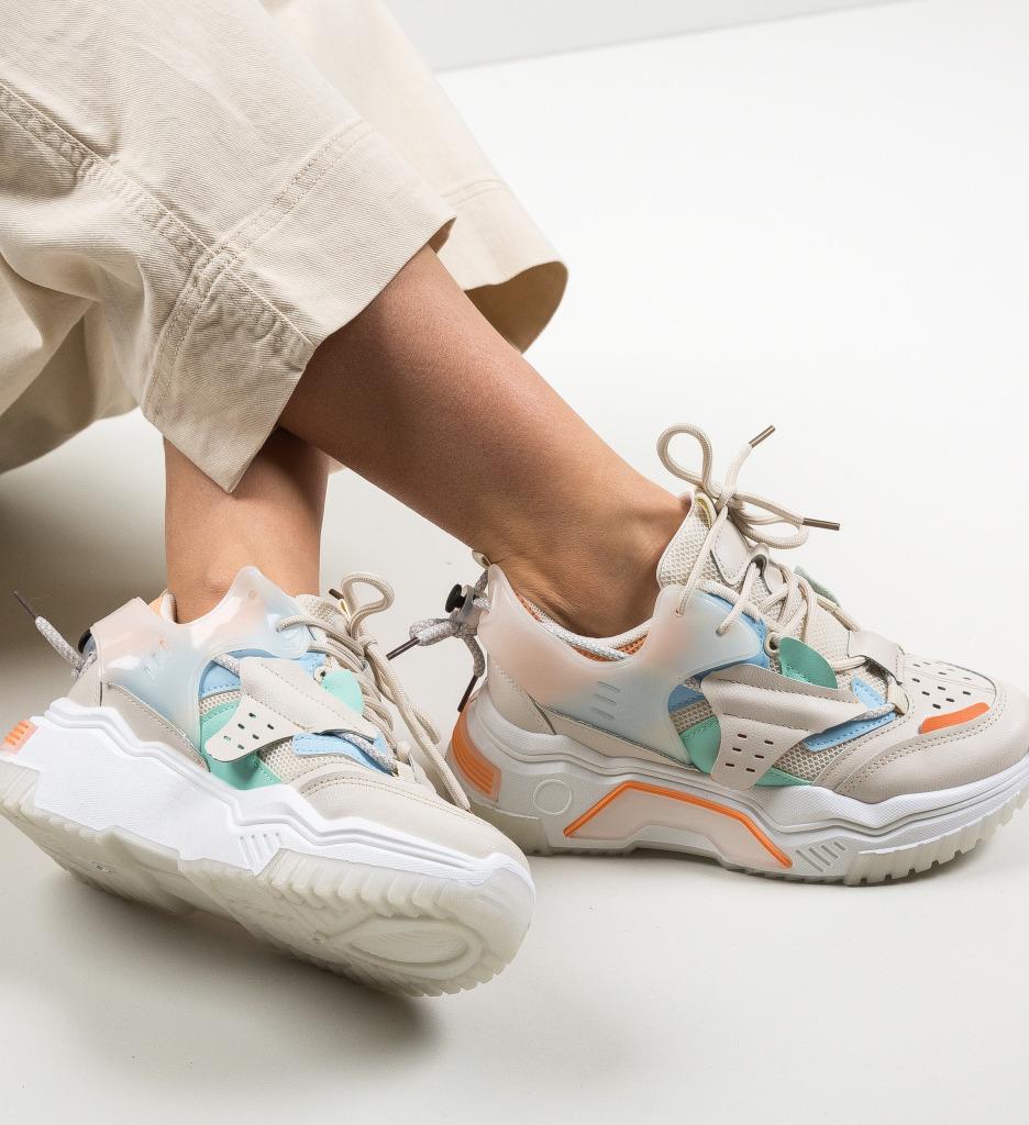 Pantofi Sport Indig Portocalii
