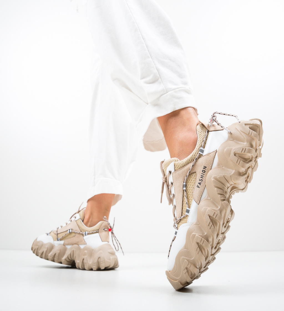 Pantofi Sport Jasmine Bej