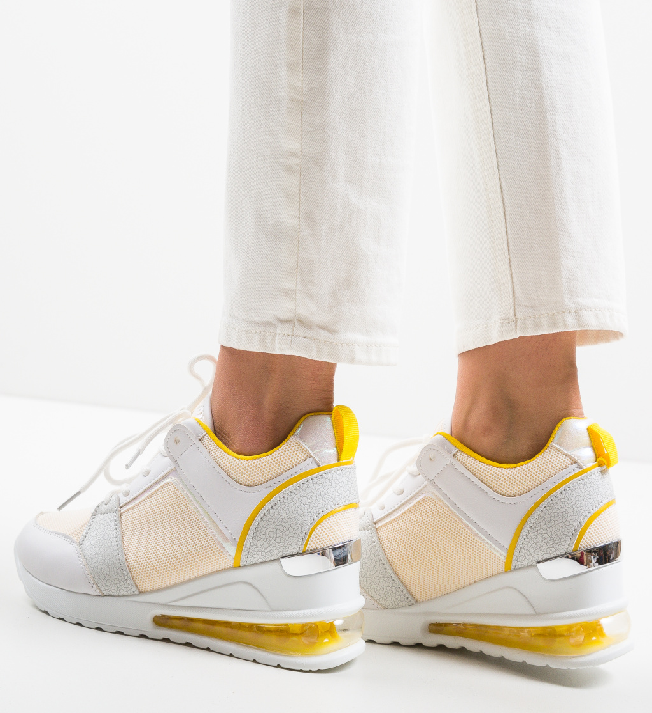 Pantofi Sport Lilith Galbeni