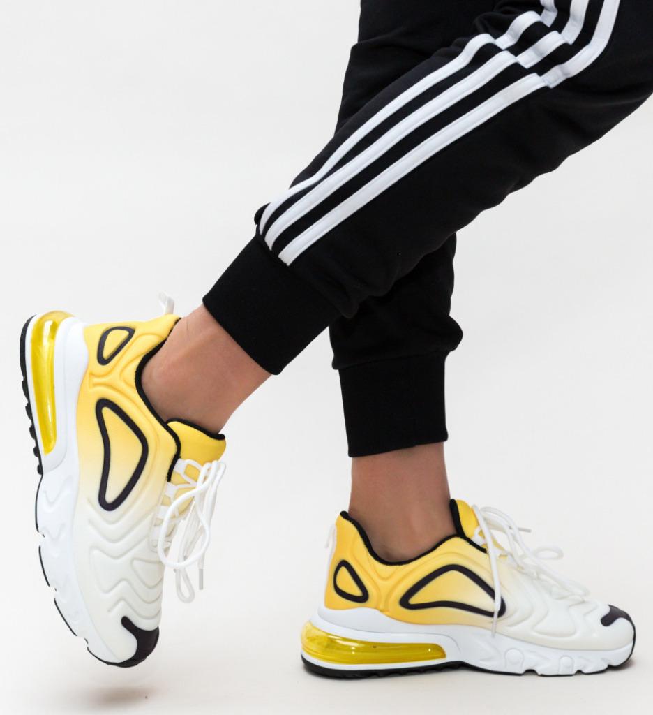 Pantofi Sport Rahman Galbeni