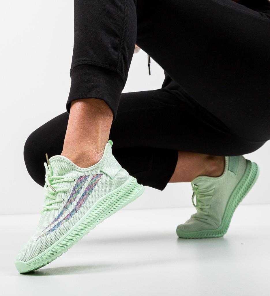 Pantofi Sport Soglom Verzi