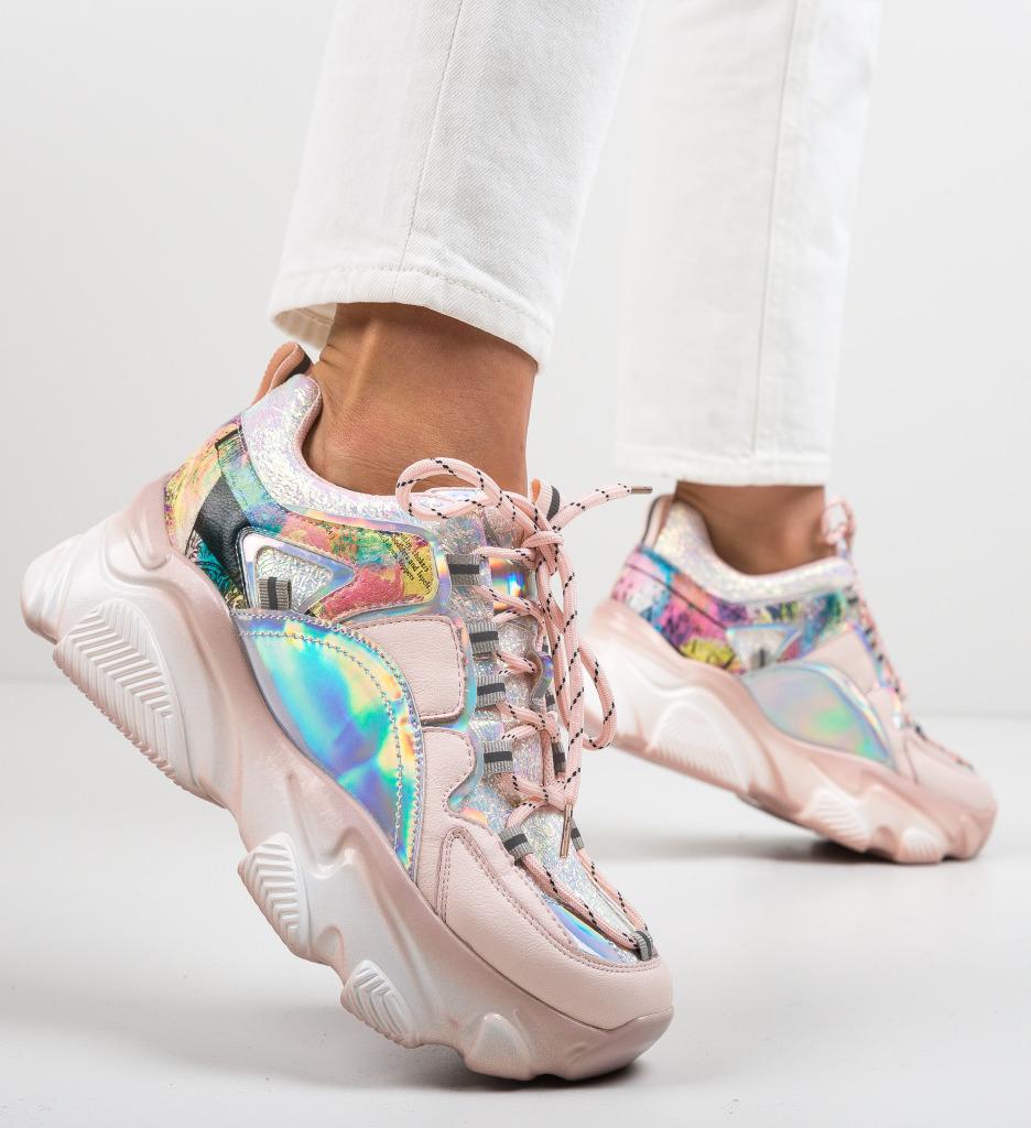 Pantofi Sport Solkaus Roz