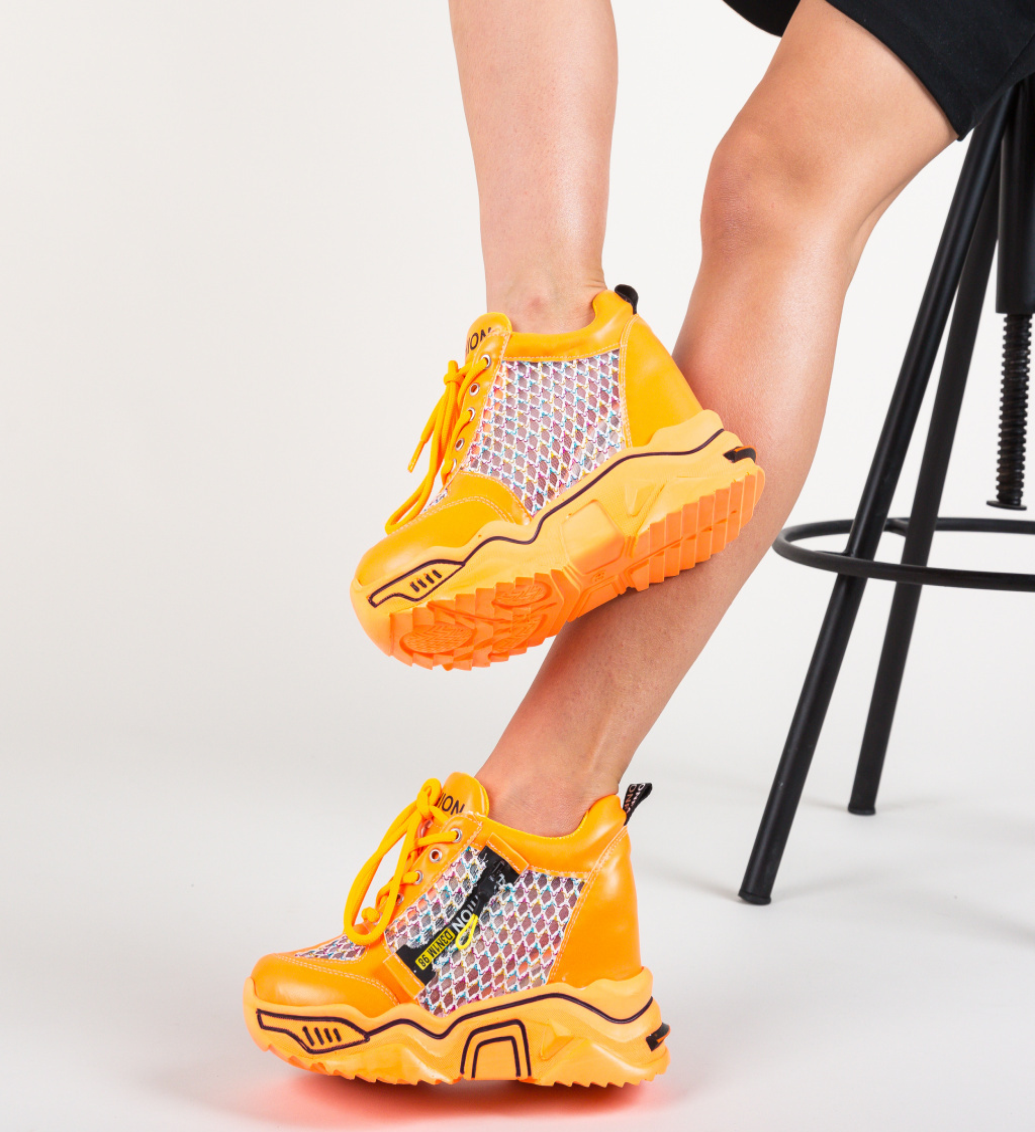 Pantofi Sport Sprank Portocalii
