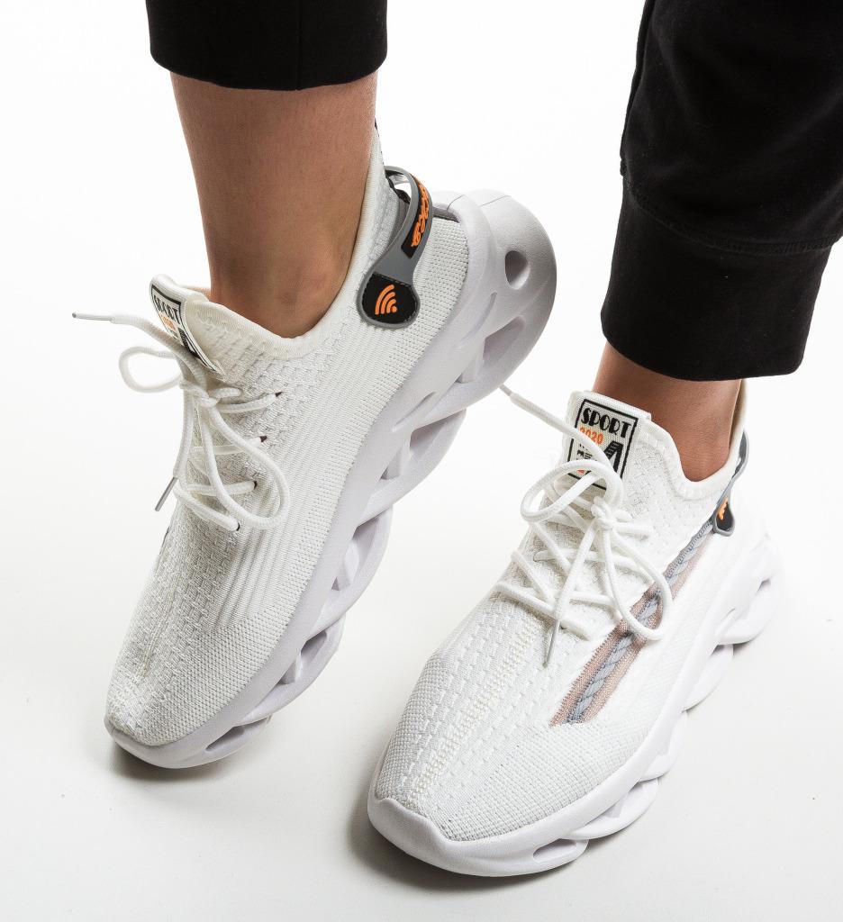 Pantofi Sport Suein Albi
