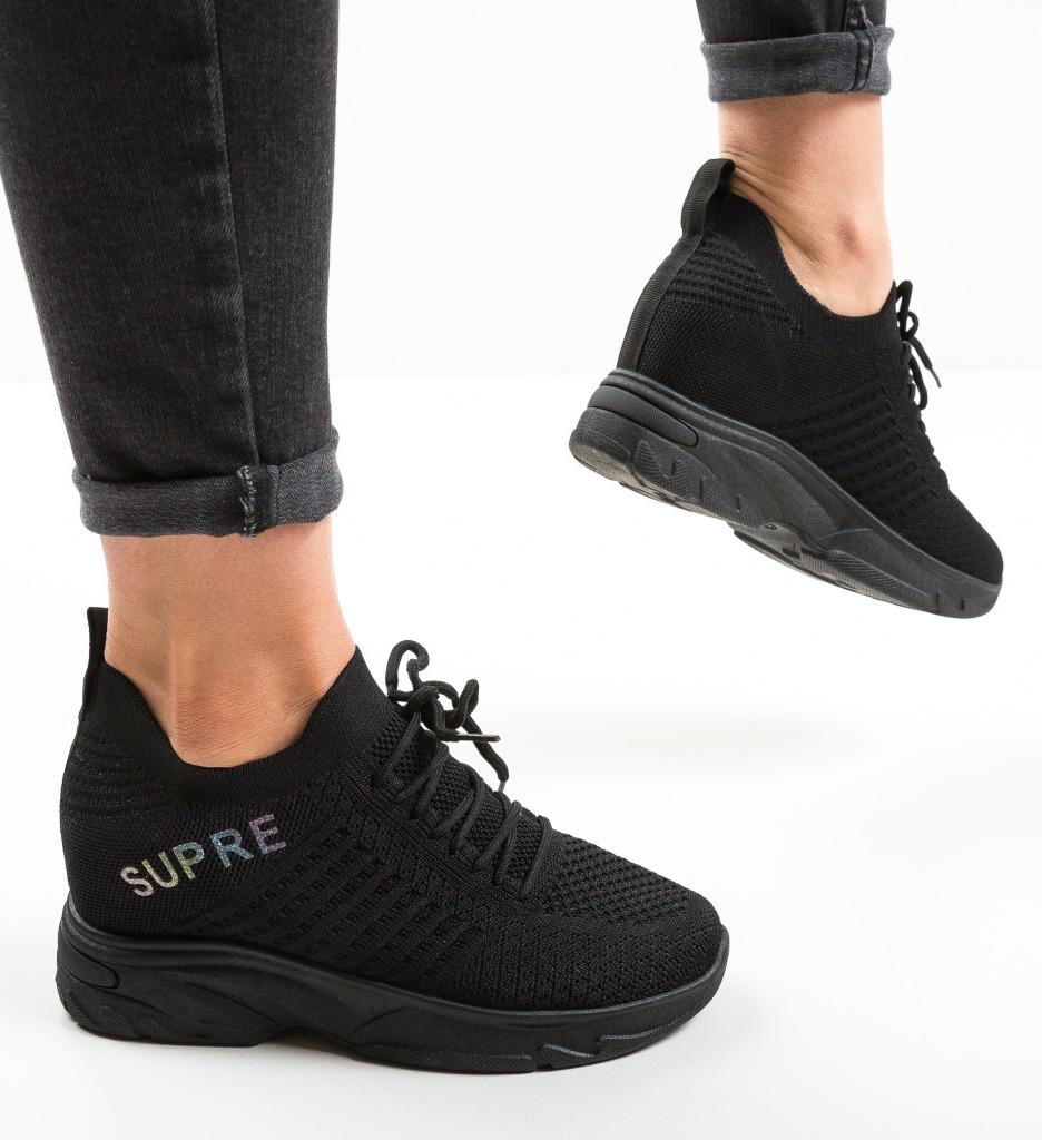 Pantofi Sport Super Negri