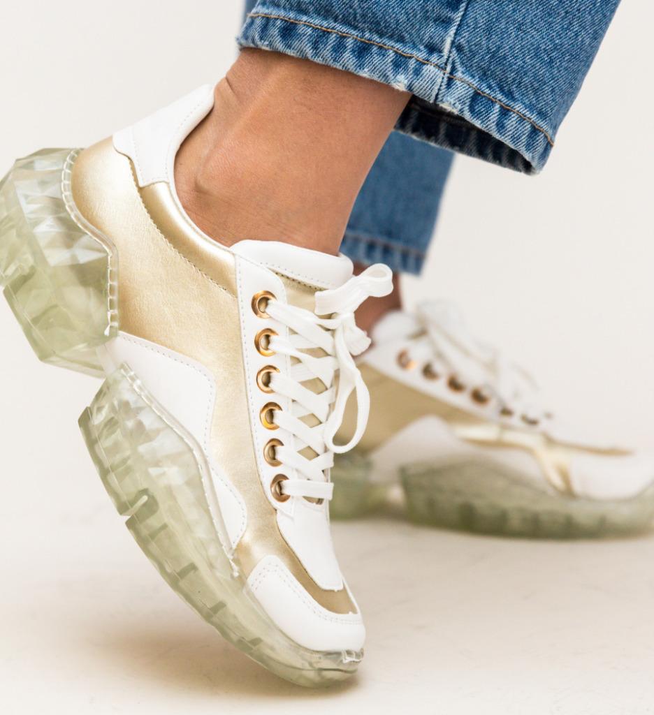 Pantofi Sport Toxia Aurii