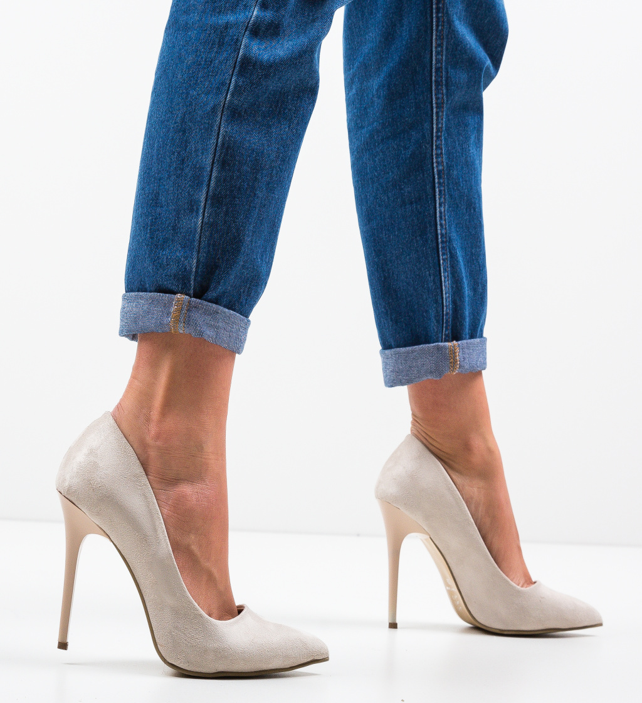 Pantofi Stormwind Bej 3