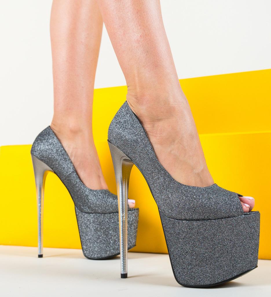 Pantofi Taitaio Gri