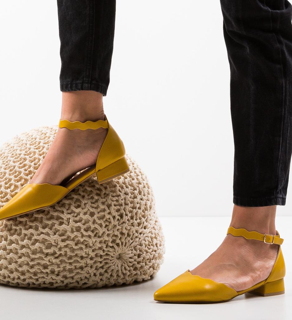 Pantofi Tierne Galbeni