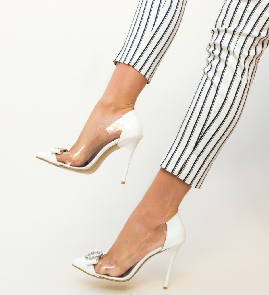 Pantofi Troli Albi