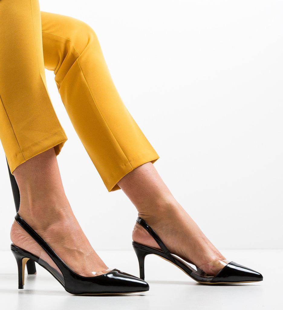 Pantofi Vienna Negri