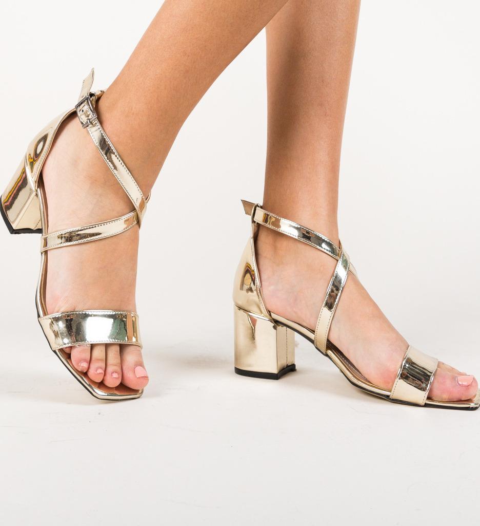Sandale Biri Aurii
