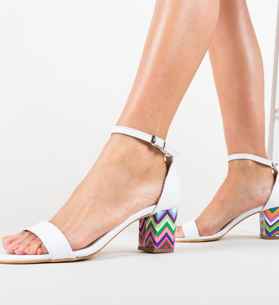 Sandale Calara Albe