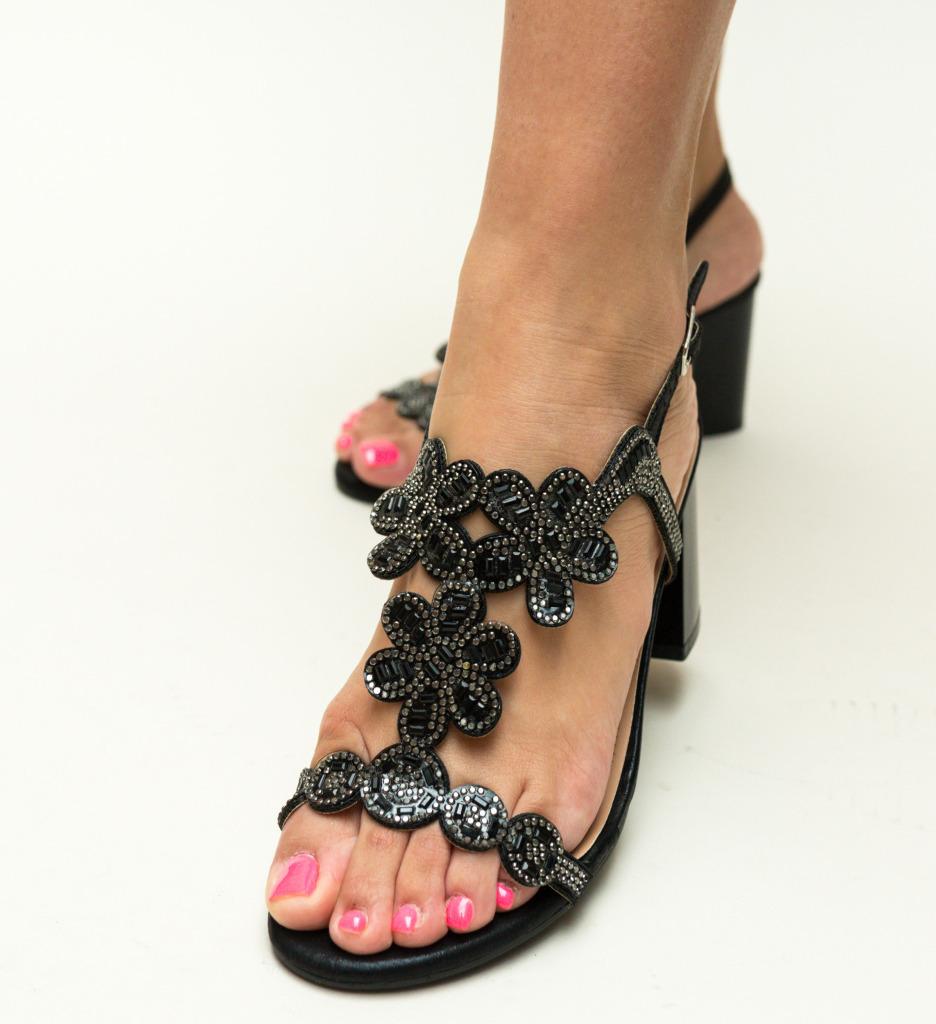 Sandale Callie Negre imagine