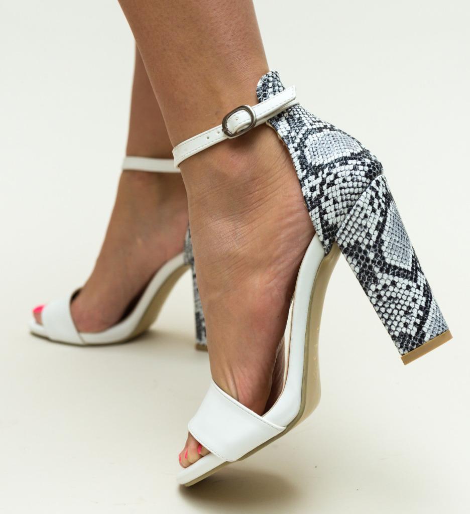 Sandale Defne Albe