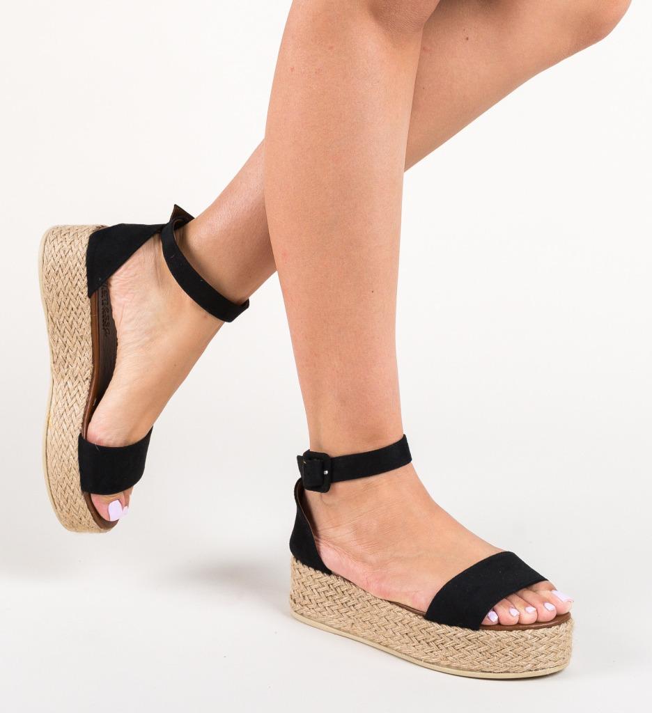 Sandale Delmar Negre