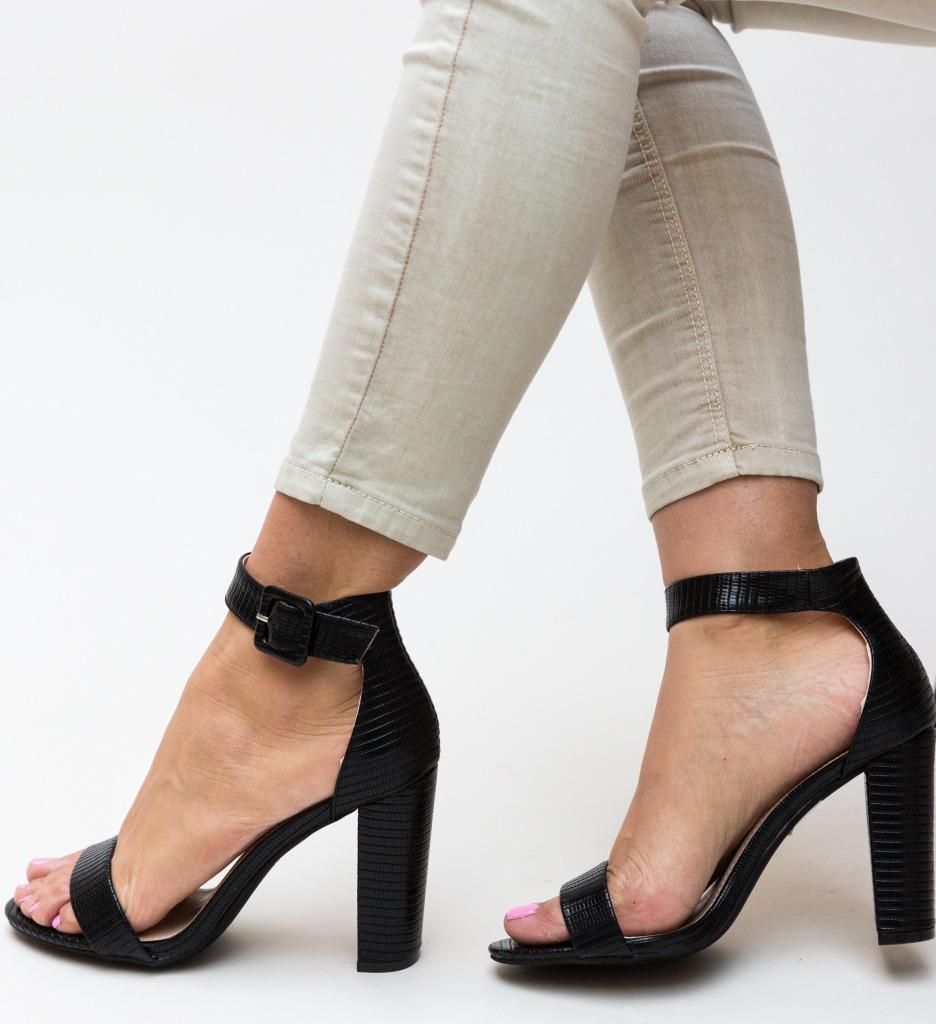 Sandale Finegan Negre
