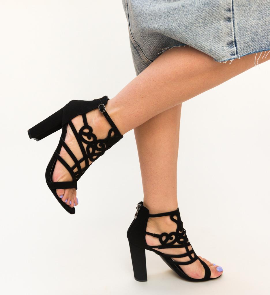 Sandale Gibon Negre