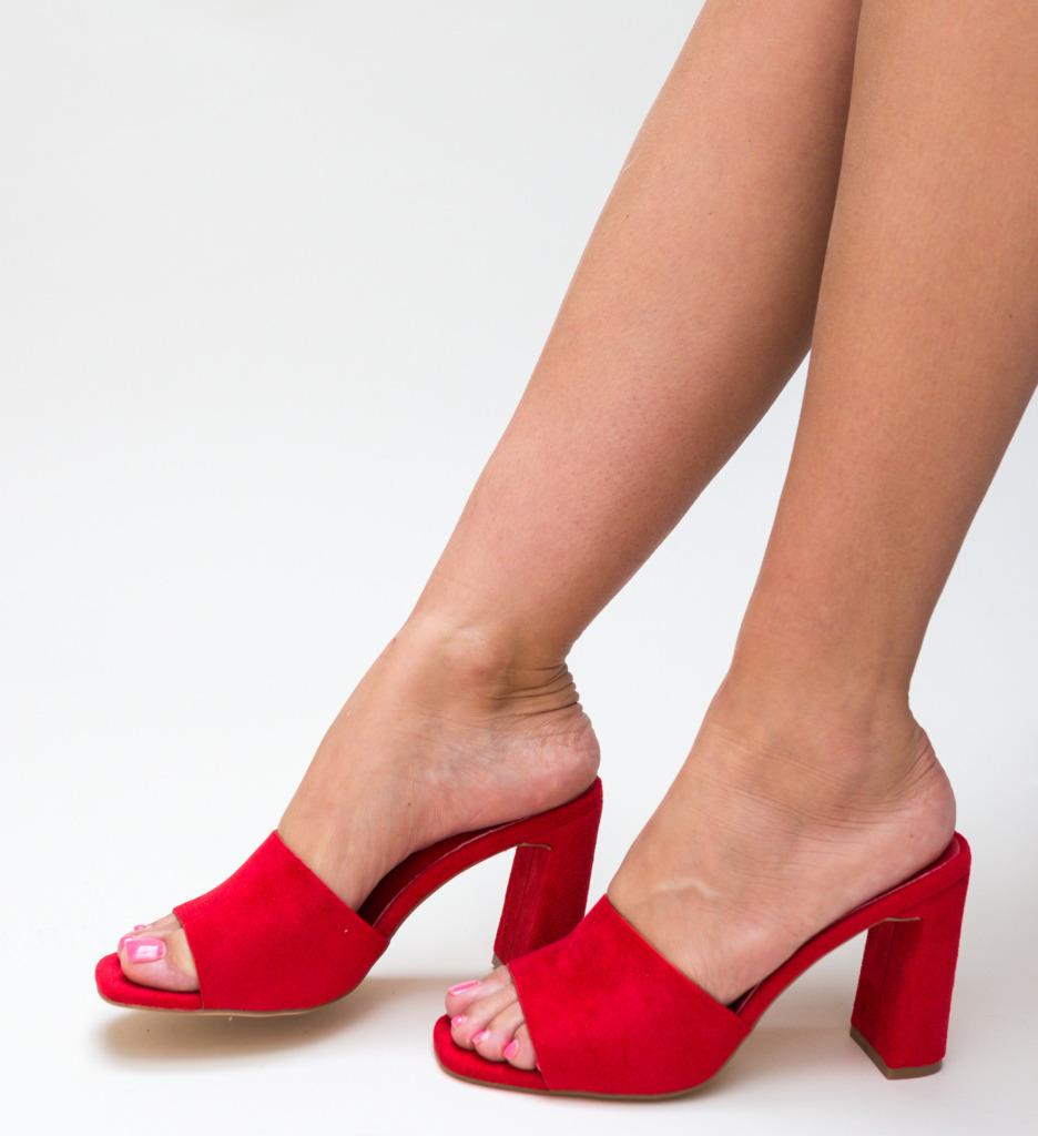 Sandale Guste Rosii