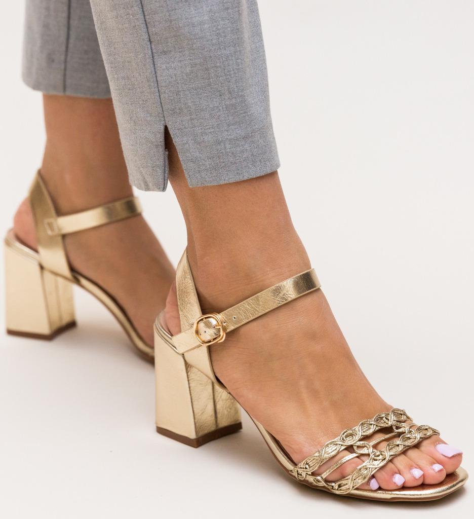 Sandale Lonar Aurii imagine
