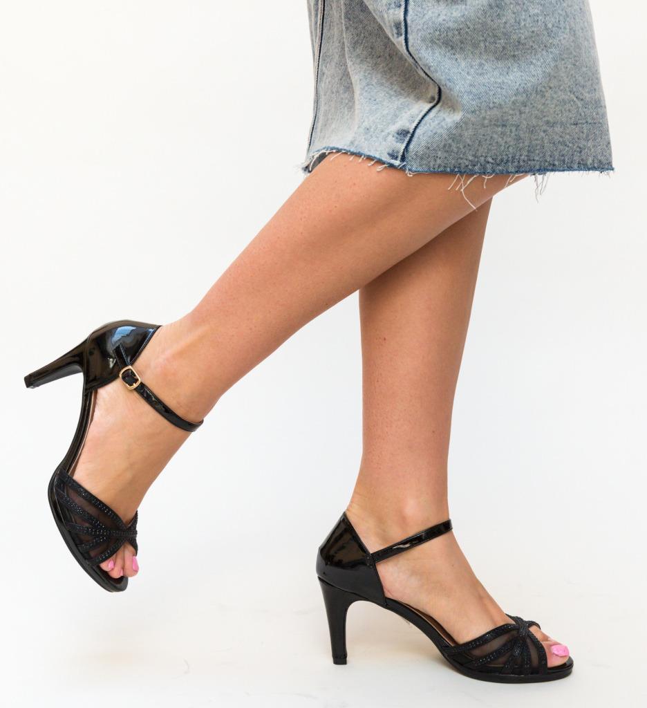 Sandale Mays Negre