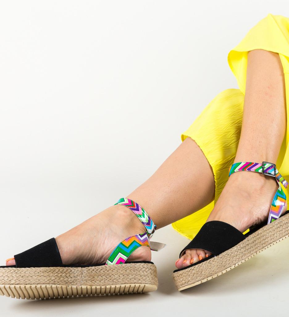 Sandale Mikiom Negre