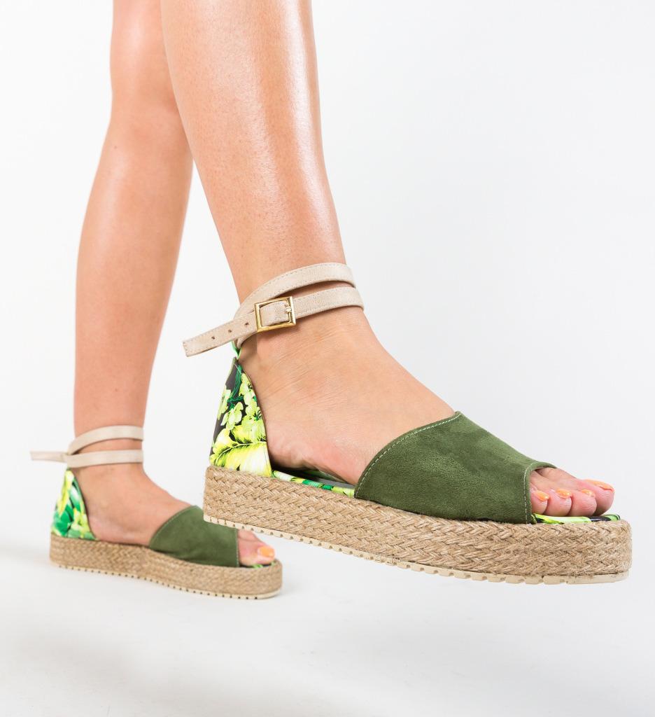 Sandale Monravia Verzi