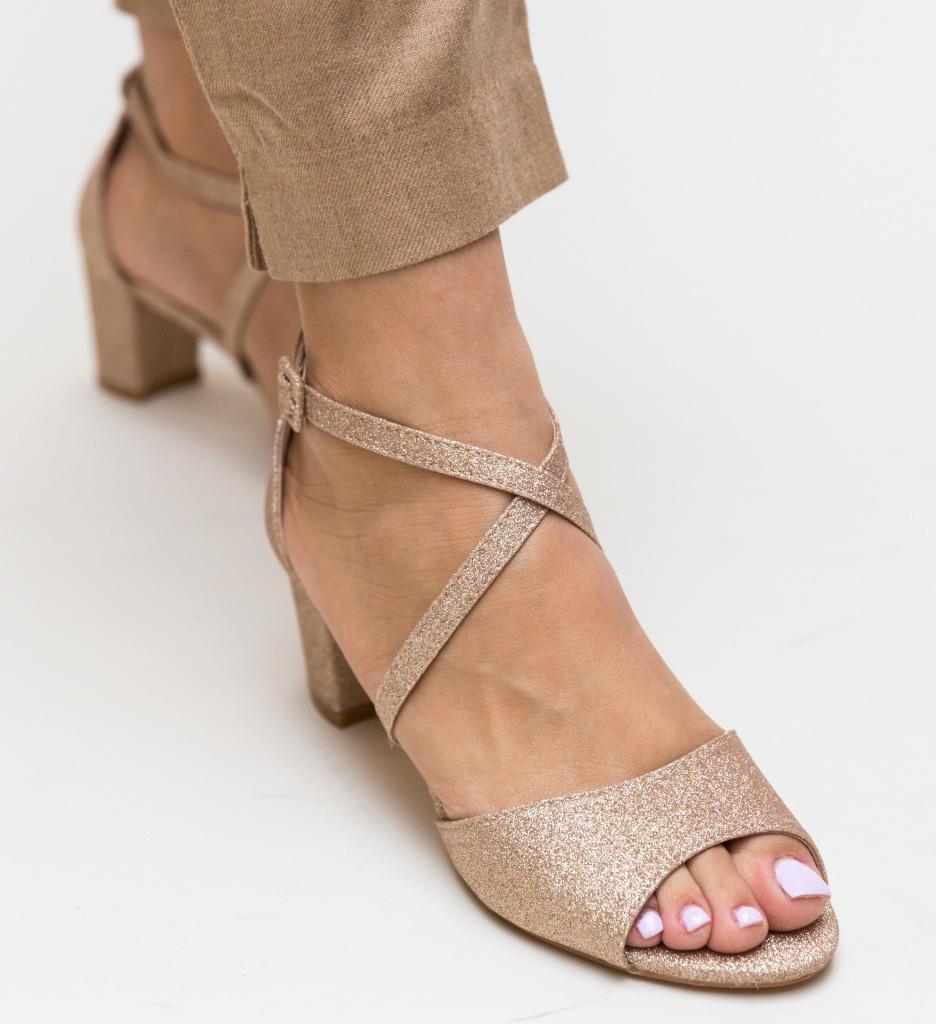 Sandale Pistano Aurii