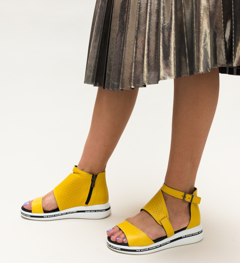 Sandale Revinda Galbene