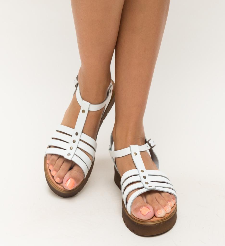 Sandale Suvio Albe
